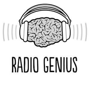 Radio Genius Podcast Logo and Link
